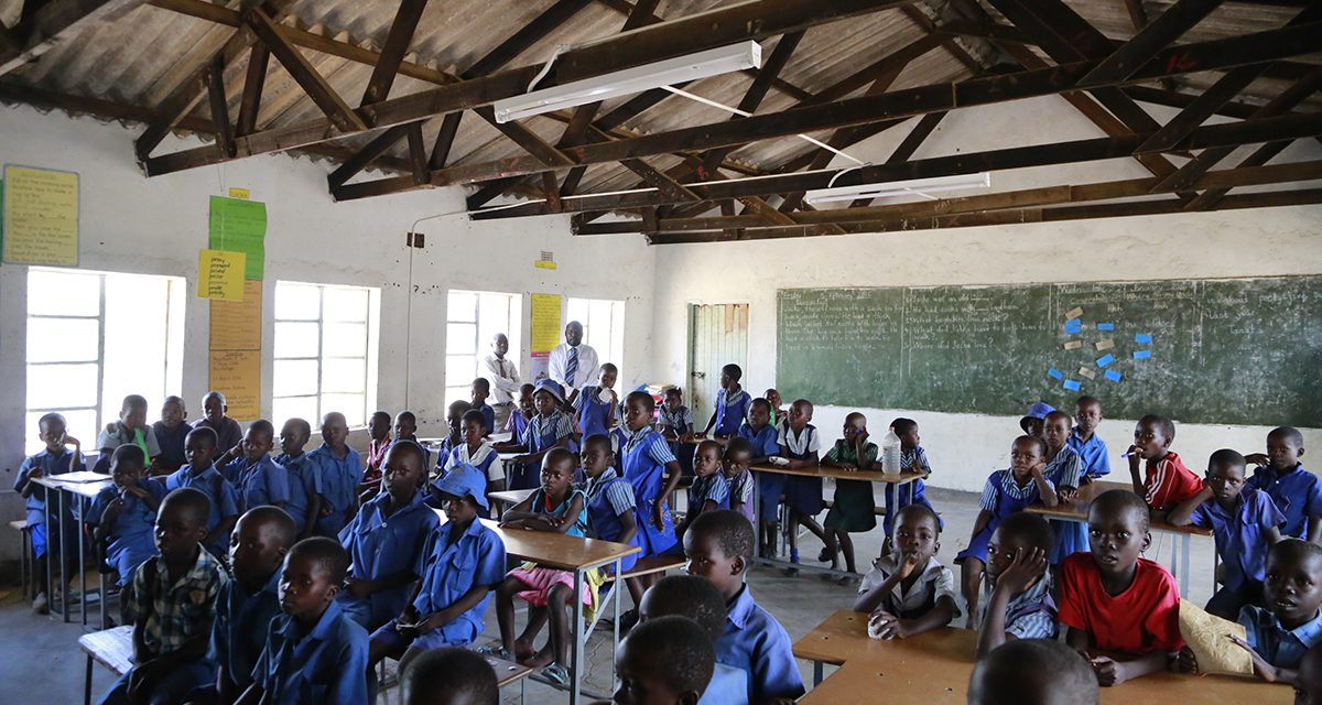 Solar lights up new hope for remote school