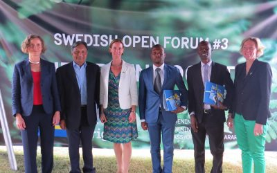 Sweden collaborates with Zimbabwe  to promote Green Economy